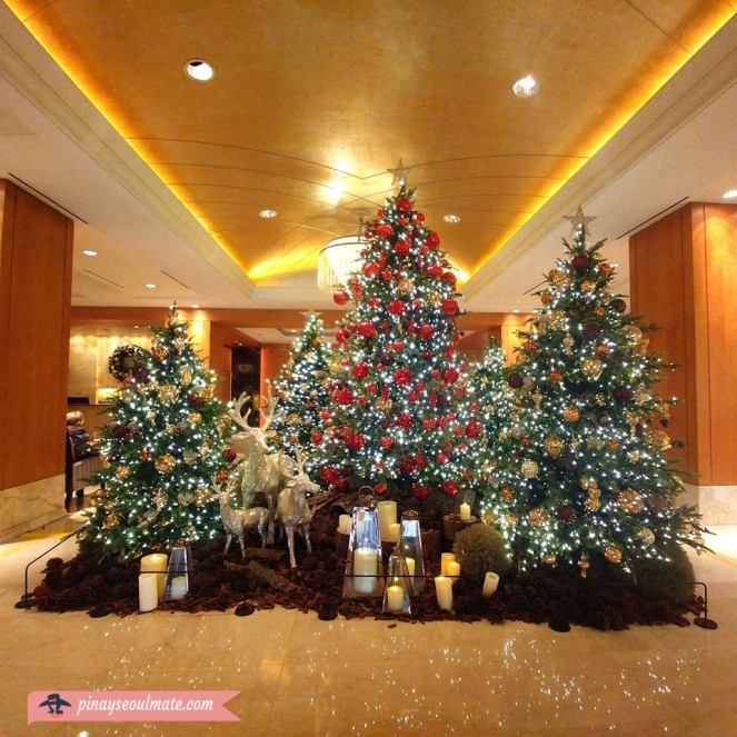 Lotte Hotel Seoul Christmas Decorations 2018 Pinay Seoulmate